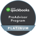 Quickbooks pro advisor program platinum badge